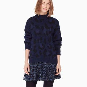 Kate Spade leopard-print sweater